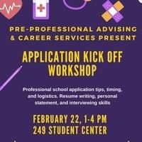 Application Kick-Off Workshop