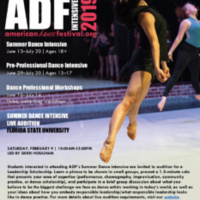 American Dance Festival (ADF) Auditions led by Gerri Houlihan