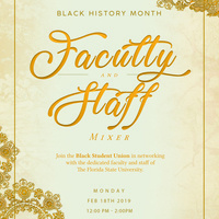 Black History Month BSU Faculty-Staff Mixer