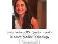 Career Conversation - Erica Furfaro '05, Sector Head (Telecom, Media, Technology) @ Millennium Management