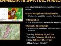 Intermediate Spatial Analysis Workshop--3rd session