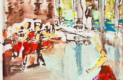 Visual Thought: A Peek Inside Artists Sketchbooks