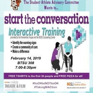 Start the Conversation with SAAC and FREE PIZZA