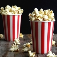 Popcorn Day in the Library