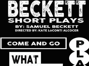 A Night of Beckett: Short Plays