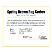 Spring Brown Bag Series