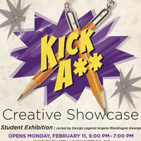 Kick A** and Take Names—2019 Graphic Design Spring Juried Competition