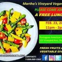 Free Luncheon: Martha's Vineyard Vegan Society