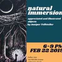 Natural Immersion: Overlooked Relics by Juniper Teffeteller at Gallery 1010