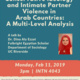 Conservative Ideology and Intimate Partner Violence in Arab Countries: A Multi-Level Analysis
