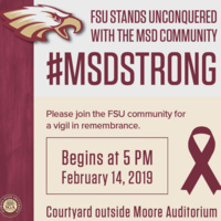 The #MSDStrong Vigil