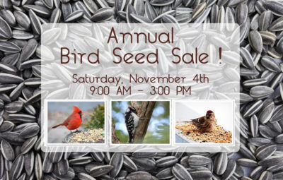 Annual Seed Sale Fundraiser