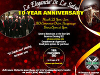 Latin Night with Elegancia De La Salsa (10 Year Anniversary)