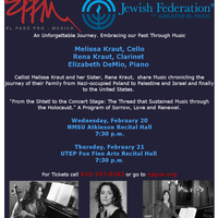 """El Paso Pro-Musica Presents """"From the Shtetl to the Concert Stage"""
