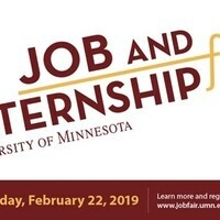 University of Minnesota Job & Internship Fair