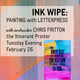 Workshop: Painting with Letterpress
