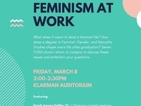 Feminism at Work: FGSS Alumni Panel