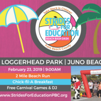 8th Annual Strides for Education Beach Bash Dash & Breakfast