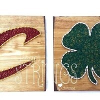 "Whet Your Palette ""CAVS"" String Art"