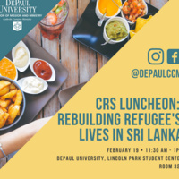 CRS Luncheon: Rebuilding Refugee's Lives in Sri Lanka