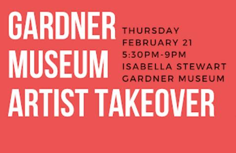Gardner Museum Artist Takeover
