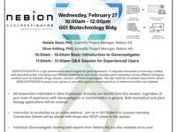 Genevestigator Training: Gene Expression Analysis for Beginners Through Experts