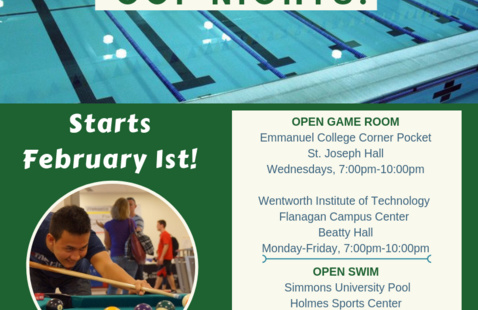 Open Swim At Simmons