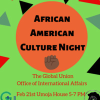 African American Culture Night | Global Union