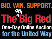 The 4th Big Red One-Day Online Auction for the United Way