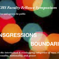 CCHS Symposium on Intersections, Transgressions and Boundaries