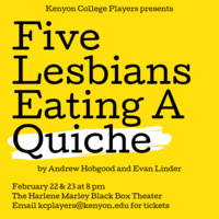 """5 Lesbians Eating a Quiche"" by Andrew Hobgood and Evan Linder"