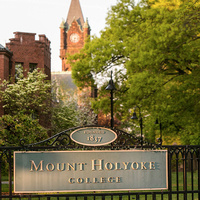 Mount Holyoke Sign for Generic Use