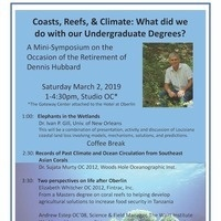 Coasts, Reefs, & Climate: What Did We Do With Our Undergraduate Degrees?