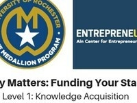 Medallion Program: Money Matters - Funding Your Start Up