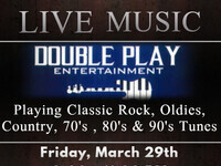 """Live Music with """"Double Play Entertainment"""""""