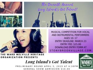 Long Island's Got Talent 2019