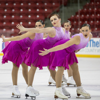 Miami University Synchronized Skating  Diamond Classic