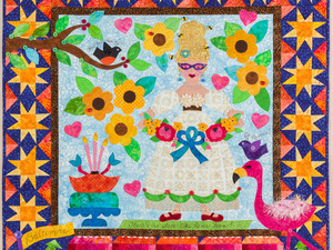 """Hometown Girl: Contemporary Quilts of Mimi Dietrich"" Exhibition Opening"