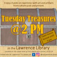 Tuesday Treasures @ 2 p.m.