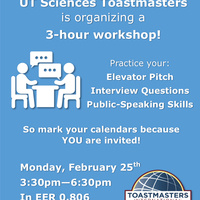 Ace the interview - Toastmasters