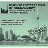 Toronto Postcard Club Annual Postcard Sale
