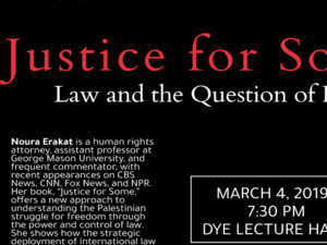 Noura Erakat - Justice for Some: Law and the Question of Palestine