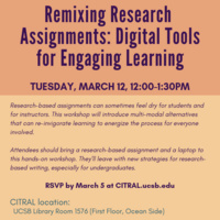 Remixing Research Assignments: Digital Tools for Engaging Learning