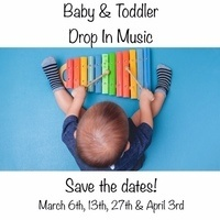 Baby & Toddler Drop In Music Classes