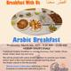 Arabic Breakfast with us