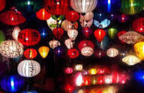Spring Lanterns