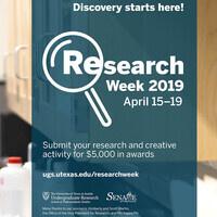 Research Week 2019