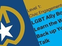 *CANCELLED*Medallion Workshop: LGBTQ Ally Bootcamp: Learn the Walk to Back Up your Ally Talk