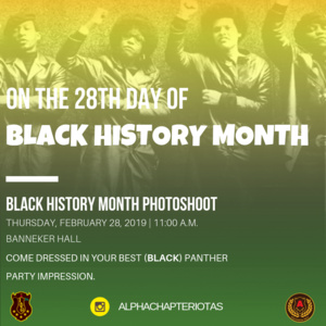 On the 28th Day of Black History Month