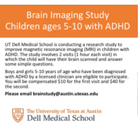 Paid Research Study: Children with ADHD ages 5-10